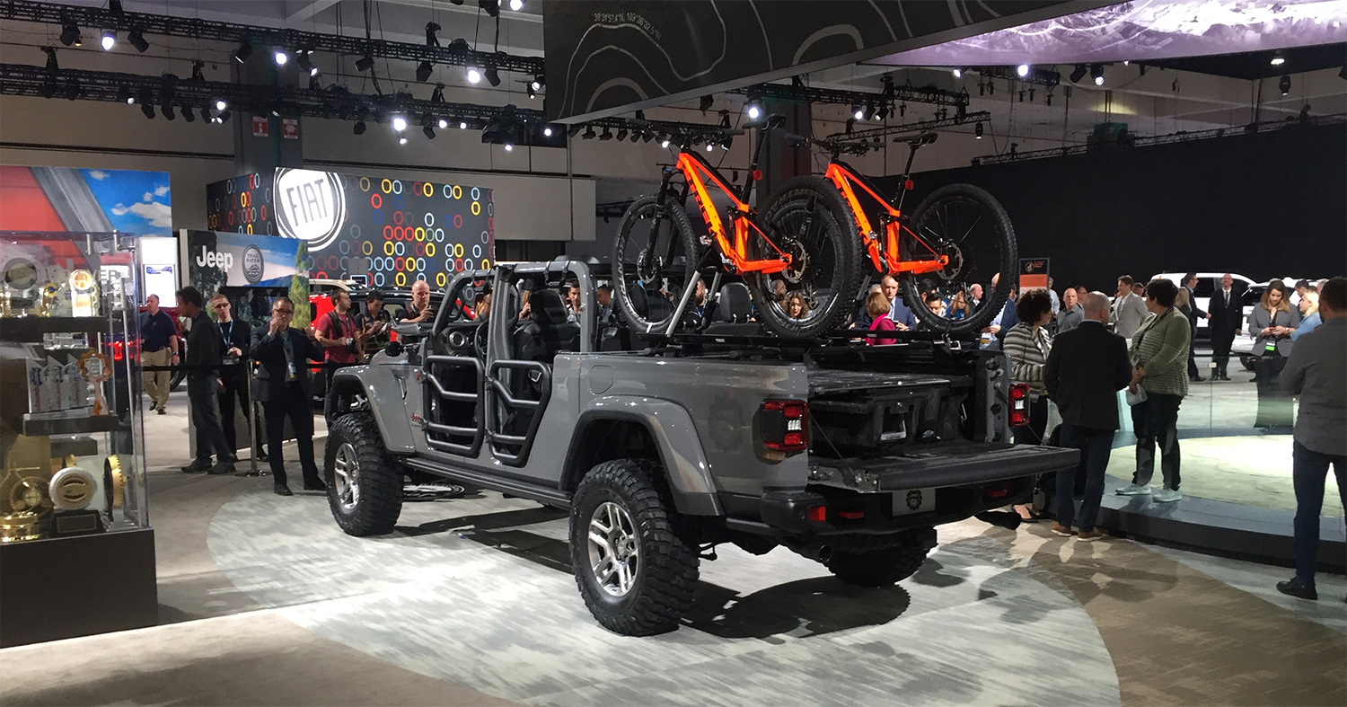Jeep Gladiator Revealed At La Auto Show Jeepers International